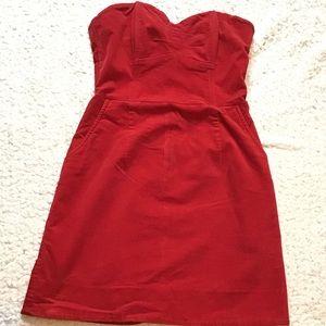 H&M Corduroy Halter dress